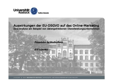 Master thesis internet marketing